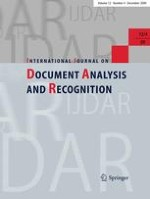 International Journal on Document Analysis and Recognition (IJDAR) 4/2009