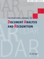 International Journal on Document Analysis and Recognition (IJDAR) 3/2014