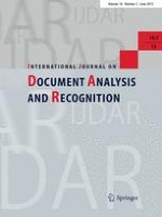 International Journal on Document Analysis and Recognition (IJDAR) 2/2015