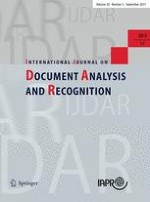 International Journal on Document Analysis and Recognition (IJDAR) 3/2017