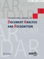 International Journal on Document Analysis and Recognition (IJDAR) 3/2018