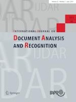 International Journal on Document Analysis and Recognition (IJDAR) 2/2019