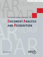 International Journal on Document Analysis and Recognition (IJDAR) 4/2019