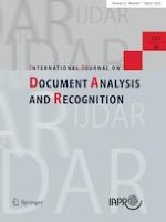 International Journal on Document Analysis and Recognition (IJDAR) 1/2020