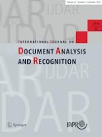 International Journal on Document Analysis and Recognition (IJDAR) 4/2020