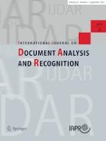 International Journal on Document Analysis and Recognition (IJDAR) 3/2021