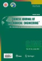 Chinese Journal of Mechanical Engineering 4/2012