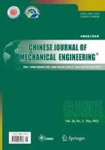 Chinese Journal of Mechanical Engineering 3/2013