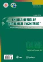 Chinese Journal of Mechanical Engineering 6/2013