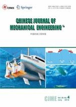 Chinese Journal of Mechanical Engineering 4/2016