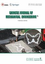 Chinese Journal of Mechanical Engineering 5/2016