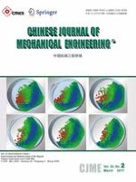 Chinese Journal of Mechanical Engineering 2/2017