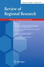 Review of Regional Research 1/2018