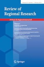 Review of Regional Research 1/2019