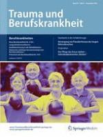 Trauma und Berufskrankheit 4/2015