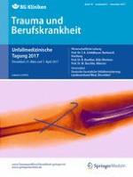 Trauma und Berufskrankheit 3/2017