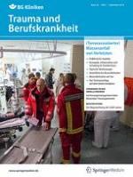 Trauma und Berufskrankheit 3/2018