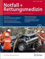 Notfall +  Rettungsmedizin 4/2007