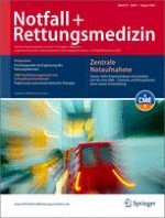 Notfall +  Rettungsmedizin 5/2007