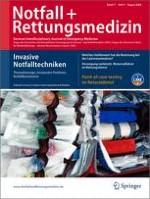 Notfall +  Rettungsmedizin 5/2008