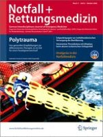 Notfall +  Rettungsmedizin 6/2008