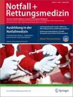 Notfall +  Rettungsmedizin 5/2009
