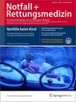Notfall +  Rettungsmedizin 8/2009