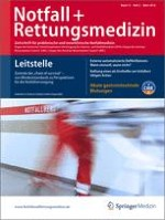 Notfall +  Rettungsmedizin 2/2010