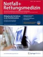 Notfall +  Rettungsmedizin 6/2010