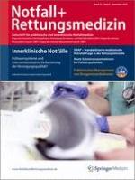 Notfall +  Rettungsmedizin 8/2010