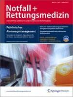Notfall +  Rettungsmedizin 1/2011