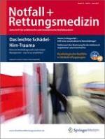 Notfall +  Rettungsmedizin 4/2011