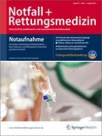 Notfall +  Rettungsmedizin 5/2011