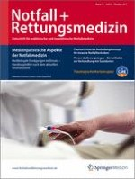 Notfall +  Rettungsmedizin 6/2011