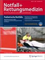 Notfall +  Rettungsmedizin 7/2011