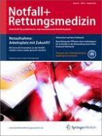 Notfall +  Rettungsmedizin 5/2012