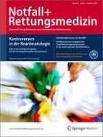 Notfall +  Rettungsmedizin 6/2012