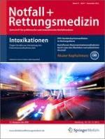 Notfall +  Rettungsmedizin 7/2012