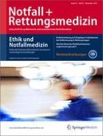 Notfall +  Rettungsmedizin 8/2012