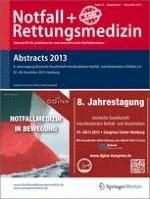 Notfall +  Rettungsmedizin 1/2013