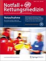Notfall +  Rettungsmedizin 2/2013