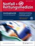 Notfall +  Rettungsmedizin 3/2013