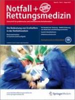 Notfall +  Rettungsmedizin 5/2013