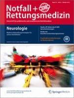 Notfall +  Rettungsmedizin 6/2013