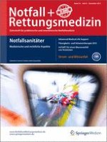 Notfall +  Rettungsmedizin 8/2013