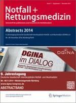 Notfall +  Rettungsmedizin 1/2014