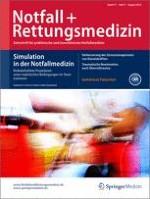 Notfall +  Rettungsmedizin 5/2014