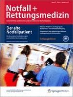 Notfall +  Rettungsmedizin 6/2014