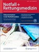 Notfall +  Rettungsmedizin 8/2014