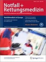 Notfall +  Rettungsmedizin 2/2015